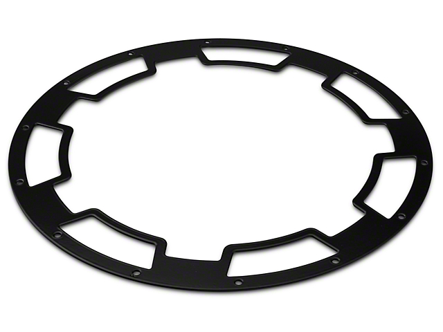 Rugged Ridge Rim Protector for 20x9 XHD Wheels - Satin Black (07-20 Jeep Wrangler JK & JL)