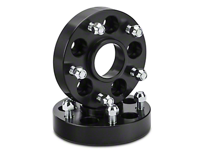 Rugged Ridge 1.25 in. Wheel Adapters - 5x4.5 to 5x5 (87-06 Jeep Wrangler YJ & TJ)