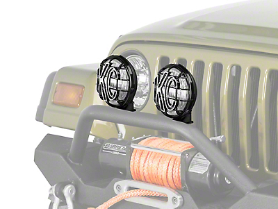 KC HiLiTES 6 in. Apollo Pro Replacement Fog Light (97-04 Wrangler TJ)
