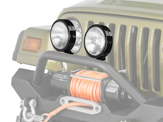 KC HiLiTES 6 in. Slimlite Halogen Replacement Fog Light (97-04 Jeep Wrangler TJ)
