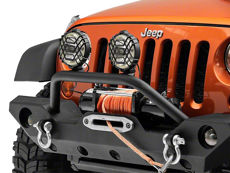 Delta 150 Series Xenon Offroad Light w/ Halo (07-19 Jeep Wrangler JK & JL)