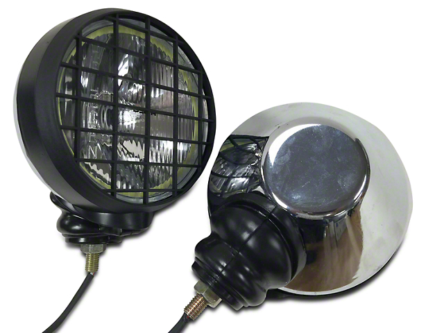 Delta 505 Series Competition HID Offroad Light w/Halo (07-20 Jeep Wrangler JK & JL)