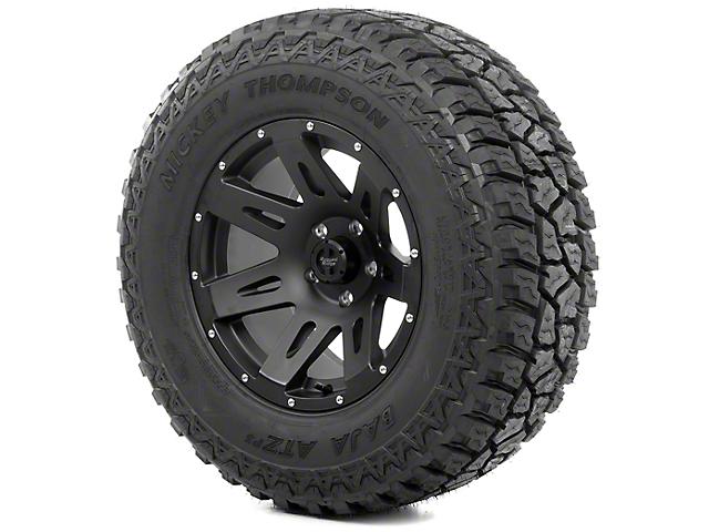 Rugged Ridge XHD Black Satin 18x9 Wheel & Mickey Thompson ATZ P3 305/60R18 Tire Kit (13-18 Jeep Wrangler JK)