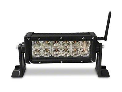 Engo 6 in. Amber & White Multifunction LED Light Bar - Flood/Spot Combo (87-17 Wrangler YJ, TJ & JK)