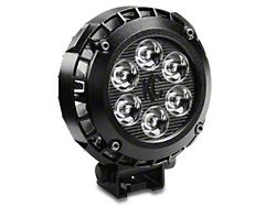 KC HiLiTES 4 Inch LZR Round LED Light; Driving Beam