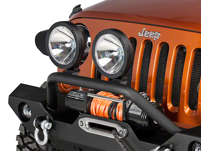 KC HiLiTES 8 in. Pro-Sport HID Off-Road Lights - Spot Beam  sc 1 st  Extreme Terrain & KC HiLiTES Wrangler 8 in. Pro-Sport HID Off-Road Lights - Spot Beam ...