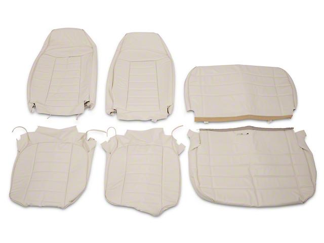 OPR Vinyl Seat Upholstery; White (87-95 Jeep Wrangler YJ)
