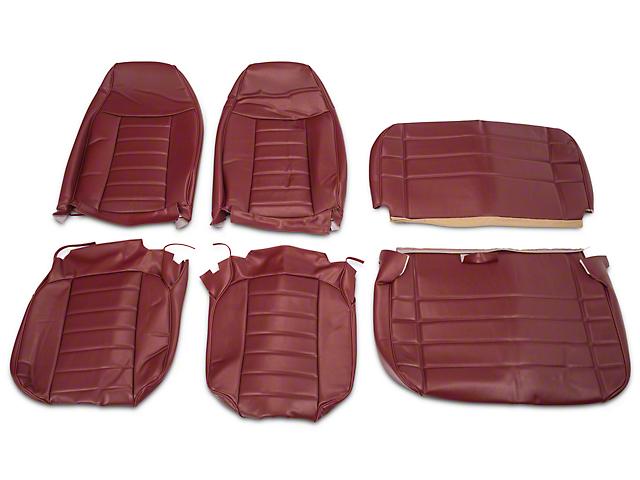 OPR Vinyl Seat Covers   Dark Red (87 95 Jeep Wrangler YJ)