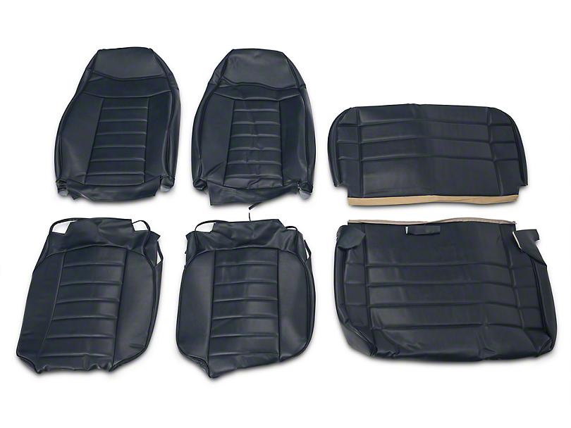 OPR Vinyl Seat Covers - Dark Blue (87-95 Jeep Wrangler YJ)