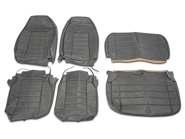 Opr Jeep Wrangler Vinyl Seat Covers Charcoal J103681 87