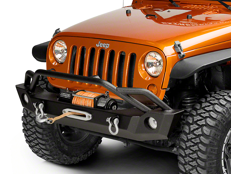 Barricade Jeep Wrangler Extreme Hd Front Bumper J103684