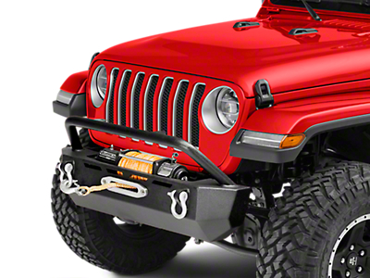Barricade Extreme HD Stubby Front Bumper (2018 Wrangler JL)