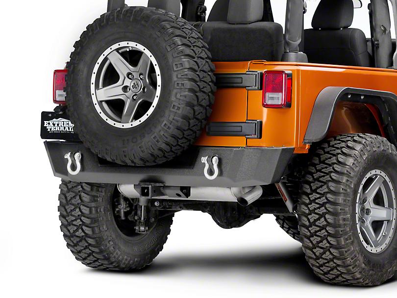 Superb Barricade Extreme HD Rear Bumper (07 18 Jeep Wrangler JK)