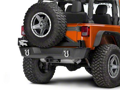 Barricade Extreme HD Rear Tire Carrier (07-18 Jeep Wrangler JK)