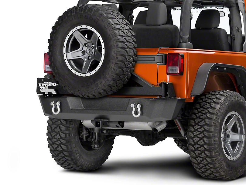 Barricade Extreme HD Rear Tire Carrier (07-18 Wrangler JK)