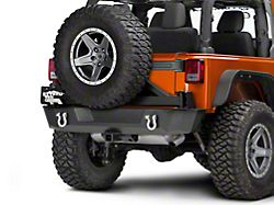 Barricade Extreme HD Rear Tire Carrier for J103686 (07-18 Jeep Wrangler JK)