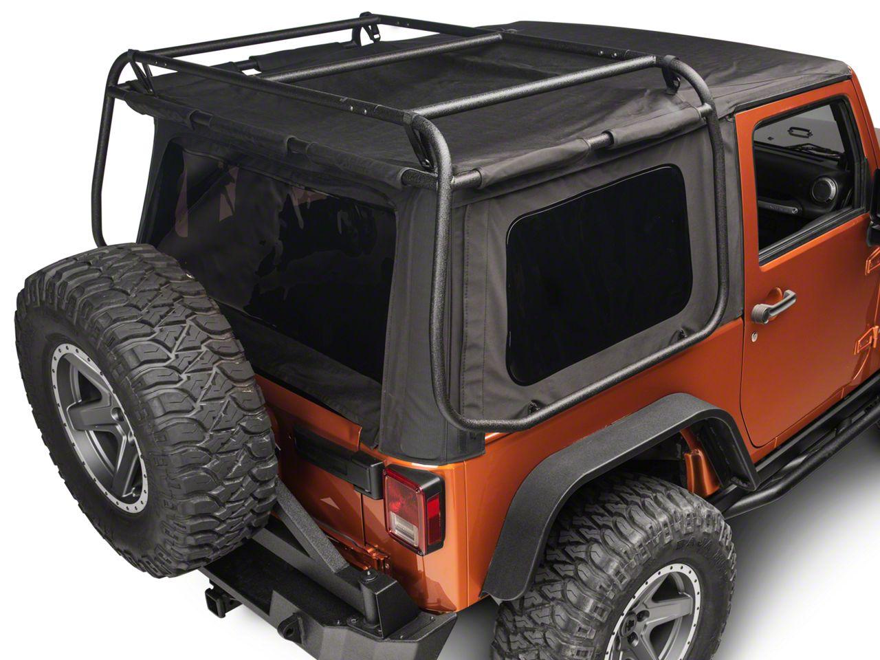 Rugged Ridge Jeep Wrangler Exo Top 13516 01 07 18 Jeep Wrangler Jk 2 Door