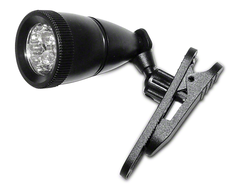 Rugged Ridge 360 Degree Clip-On LED Light (Universal Application)
