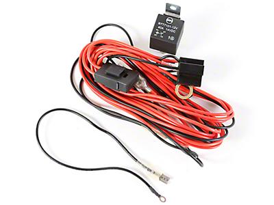 Rugged Ridge Wiring Harness for 2 HID Offroad Fog Lights (87-18 Wrangler YJ, TJ, JK & JL)