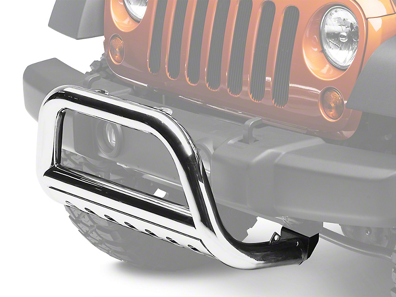 Rugged Ridge 3 in. Stainless Steel Bull Bar (07-09 Wrangler JK)