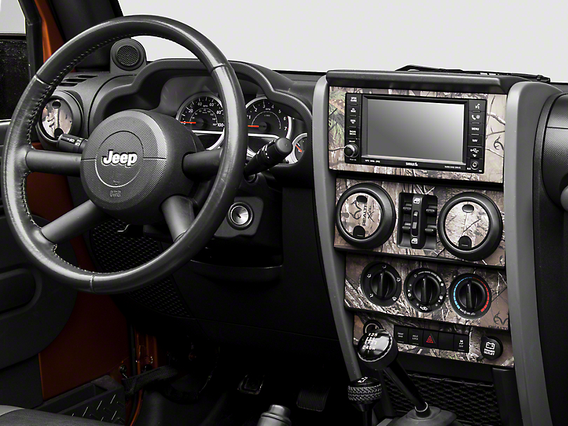 Real Tree Camo Dash Kit (07-10 Jeep Wrangler JK)