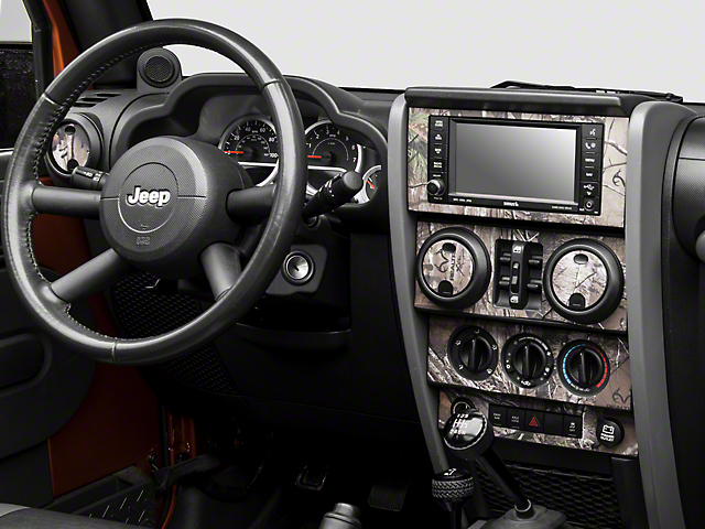 Real Tree Camo Dash Kit (07-10 Wrangler JK)