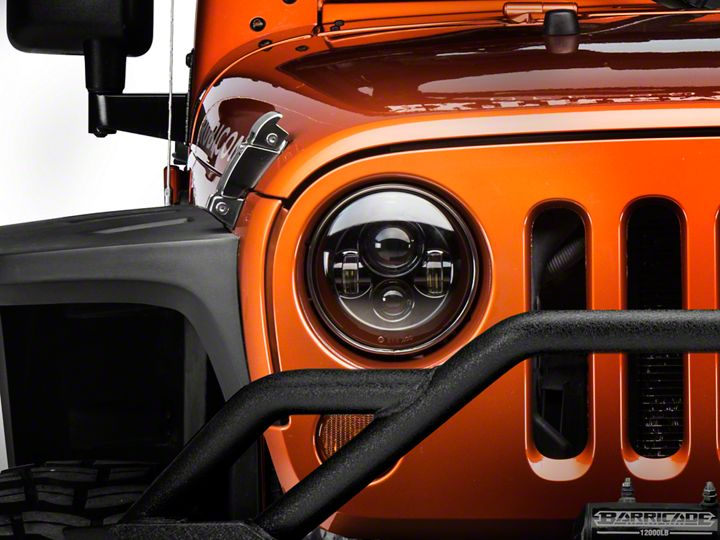 Parts In This Guide Raxiom Led Headlights 07 18 Jeep Wrangler