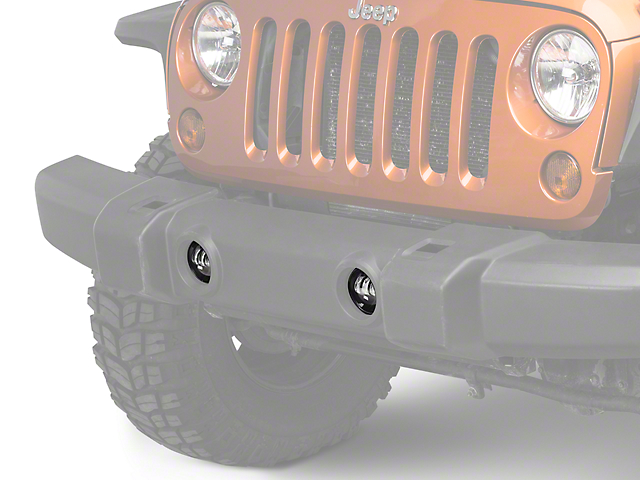 Raxiom 4 in. LED Fog Lights (07-18 Jeep Wrangler JK)
