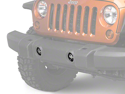 Raxiom 4 in. LED Fog Lights (07-17 Wrangler JK)