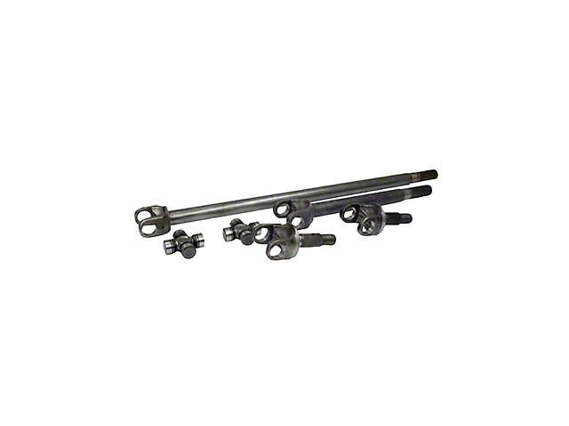 Yukon Gear 4340 Chrome-Moly Dana 30 Replacement Front Axle Kit (07-18 Jeep Wrangler JK)