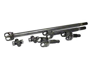 Yukon Gear 4340 Chrome-Moly Replacement Front Axle Kit - Dana 30 (07-18 Wrangler JK)