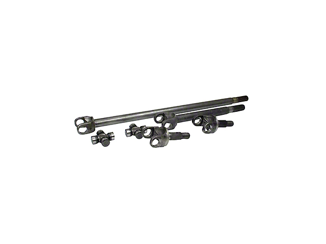 Yukon Gear 4340 Chrome-Moly Replacement Front Axle Kit - Dana 44 (07-17 Wrangler JK Rubicon)