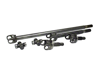 Yukon Gear 4340 Chrome-Moly Replacement Front Axle Kit - Dana 44 (07-18 Jeep Wrangler JK Rubicon)