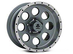 Mammoth 8 Beadlock Style Anthracite Wheel; 15x8 (87-95 Jeep Wrangler YJ)