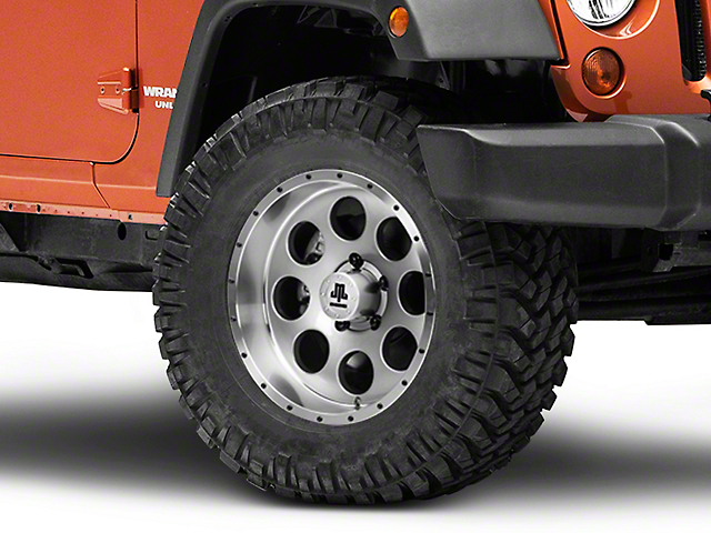 Mammoth 8 Beadlock Style Anthracite Wheel - 17x9 (07-18 Jeep Wrangler JK)