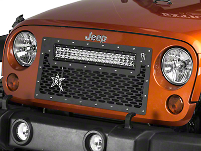 Rigid Industries Grille Mount for 20 in. E Series Light Bar (07-17 Wrangler JK)