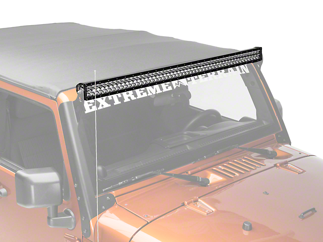 Rigid industries wrangler 50 in e series led light bar spot beam e series led light bar spot beam mozeypictures Images