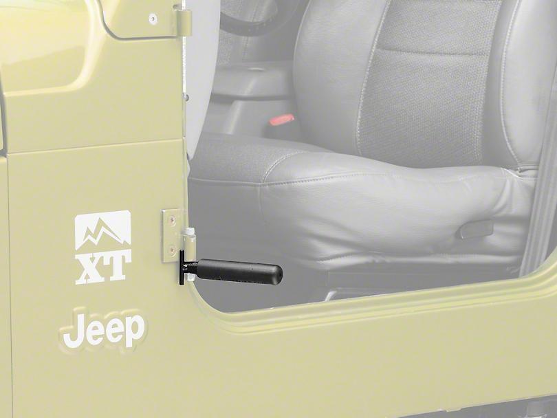 GraBars BootBars Foot Pegs - Black (87-06 Jeep Wrangler TJ & YJ)