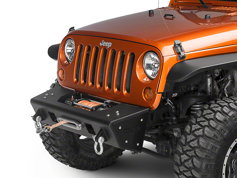 Addictive Desert Designs Stealth Fighter Front Bumper (07-18 Jeep Wrangler JK)