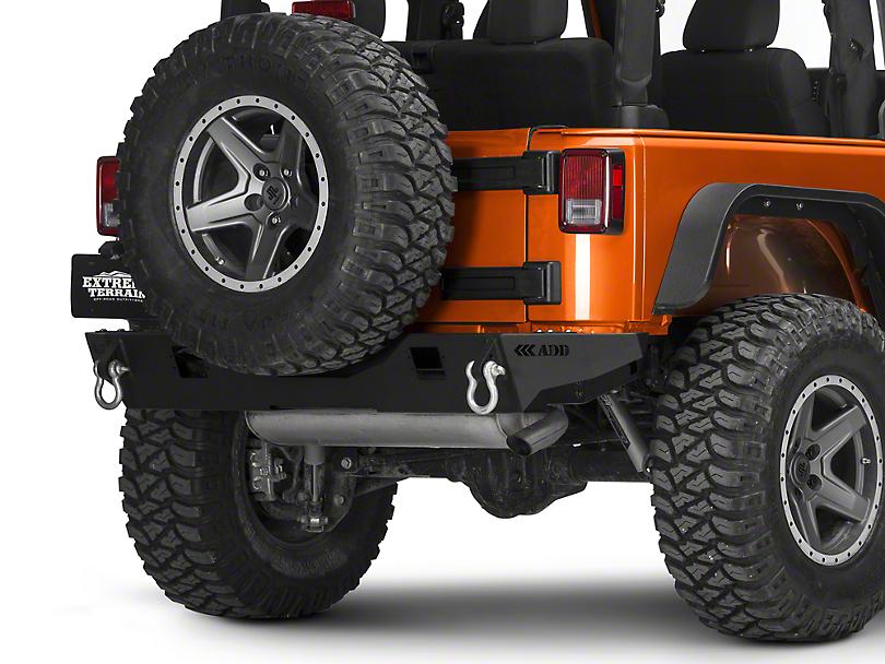 Addictive Desert Designs Stealth Fighter Rear Bumper (07-18 Jeep Wrangler JK)
