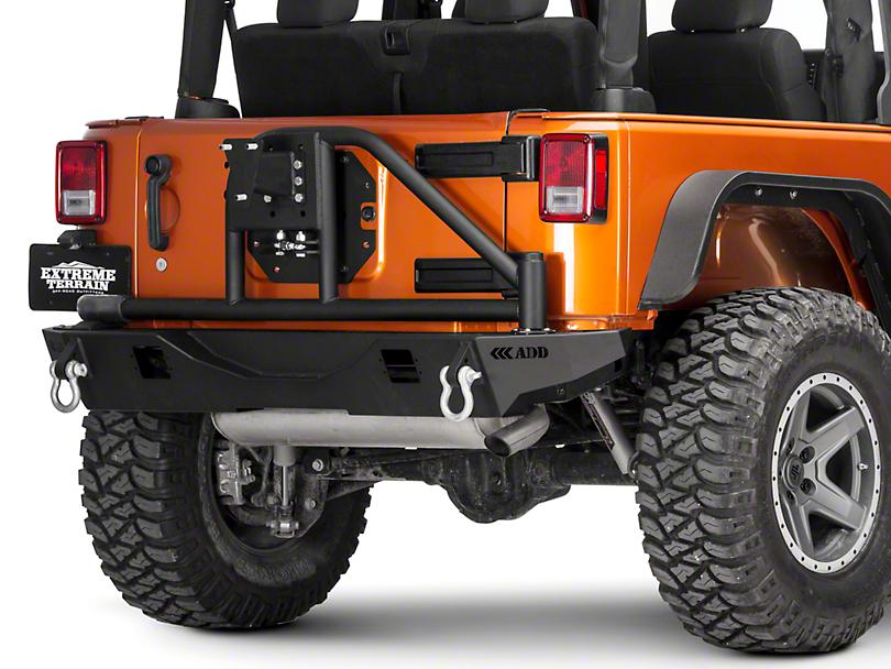 Addictive Desert Designs Tire Carrier (07-18 Jeep Wrangler JK)
