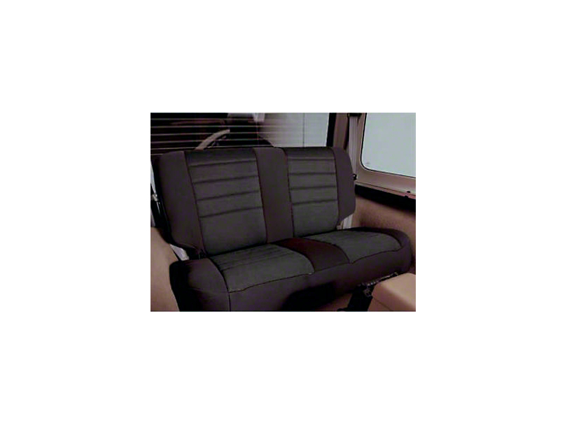 Smittybilt Neoprene Seat Cover Set Front/Rear - Black (97-06 Jeep Wrangler TJ)