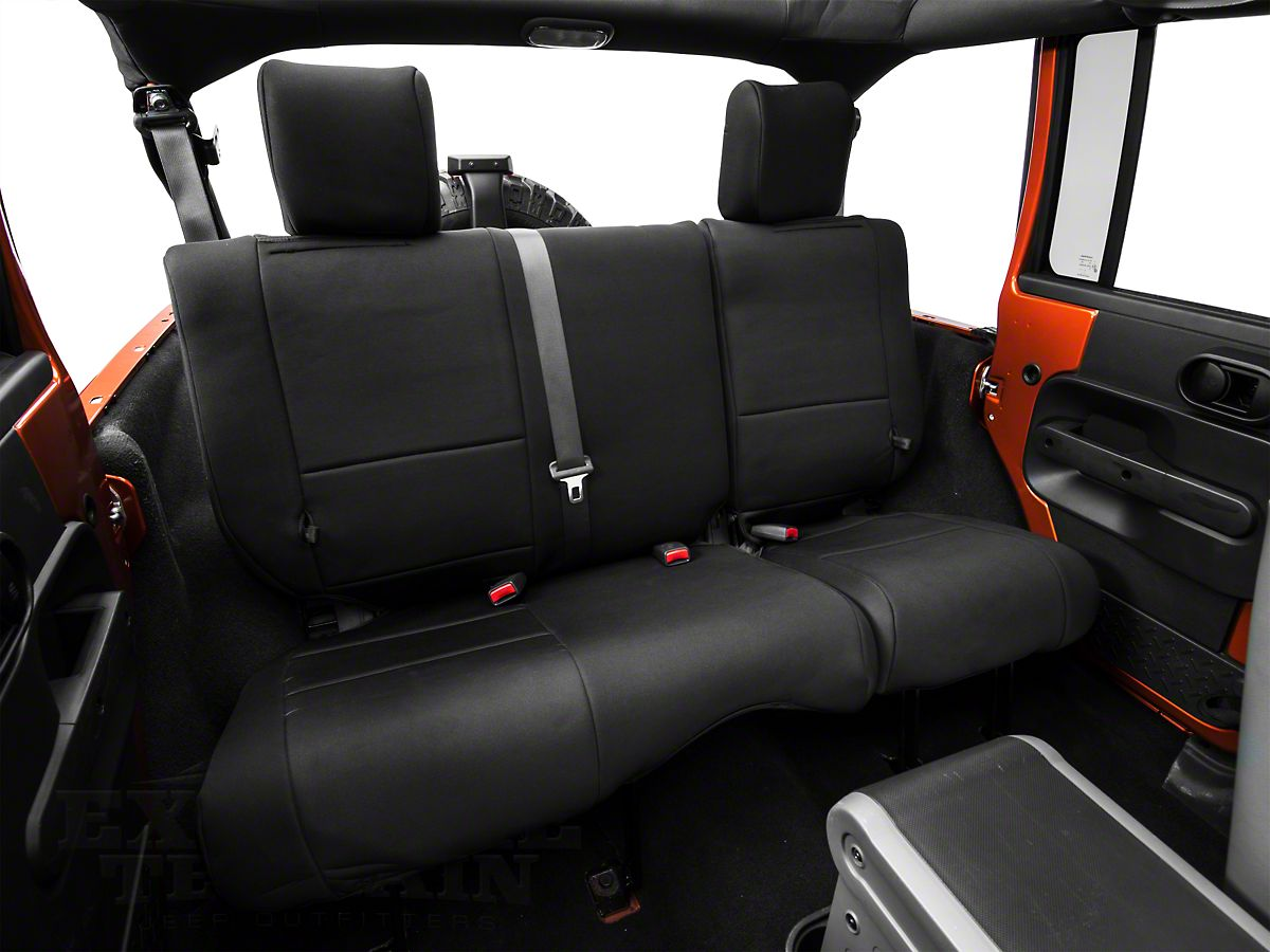 Incredible Smittybilt Neoprene Front Rear Seat Covers Black 07 18 Jeep Wrangler Jk Caraccident5 Cool Chair Designs And Ideas Caraccident5Info