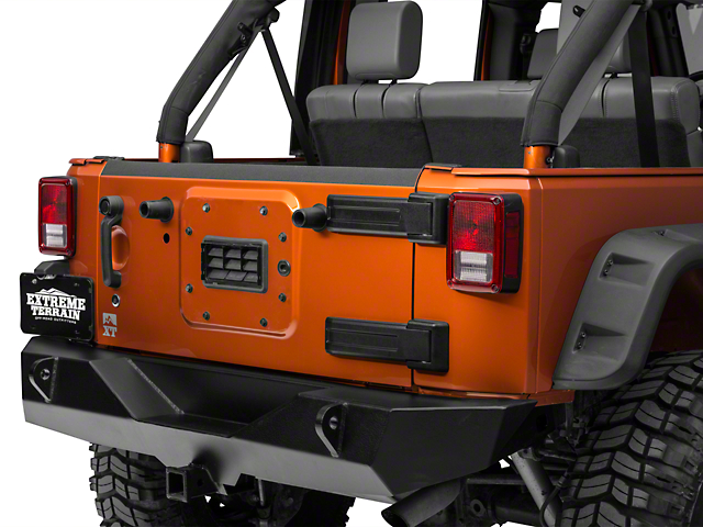 Barricade Jeep Wrangler Tailgate Top Edge Body Shield