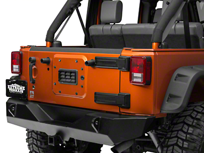 Barricade Tailgate Top Edge Body Shield Decal (07-18 Jeep Wrangler JK)