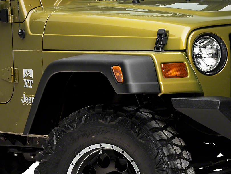 RedRock 4x4 7 in. Fender Flares (97-06 Jeep Wrangler TJ)