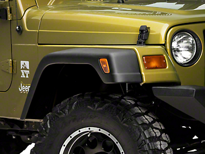 RedRock 4x4 7 in. Fender Flare Kit (97-06 Jeep Wrangler TJ)