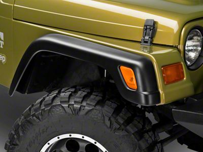 RedRock 4x4 6-Piece Replacement Style Fender Flares (97-06 Jeep Wrangler TJ)