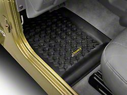 Barricade Front Floor Mats - Black (97-06 Jeep Wrangler TJ)