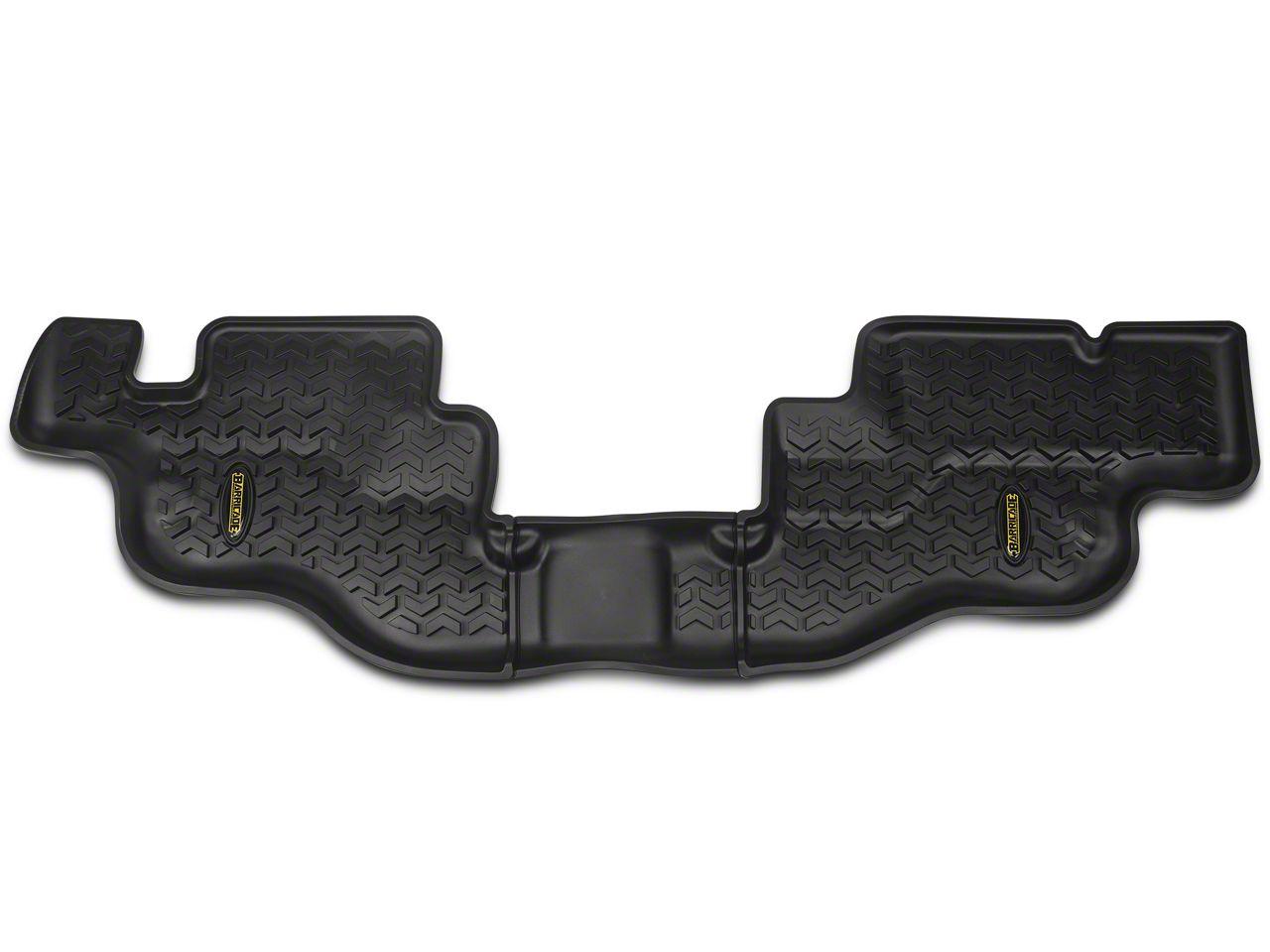 Barricade All Terrain Rear Floor Mat - Black (87-95 Jeep Wrangler YJ)